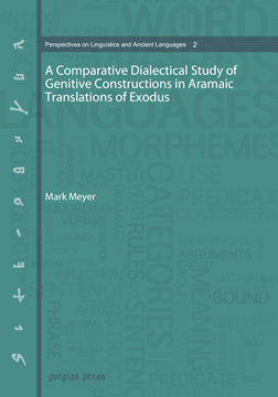 Picture of A Comparative Dialectical Study of Genitive Constructions in Aramaic Translations of Exodus