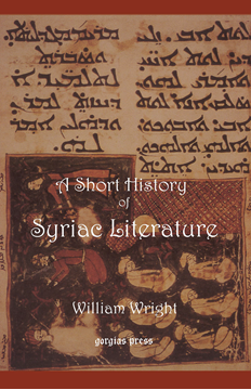 Picture of Short History of Syriac Literature