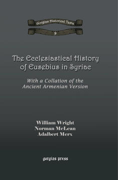 Picture of The Ecclesiastical History of Eusebius in Syriac