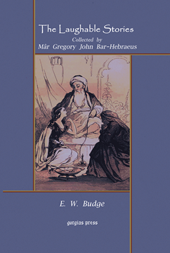 Picture of The Laughable Stories Collected by Mar Gregory John Bar-Hebraeus