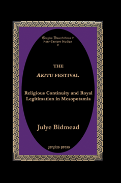 Picture of The Akītu Festival (hardback)