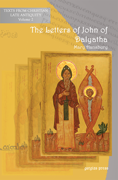 Picture of The Letters of John of Dalyatha