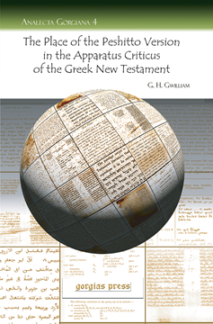 Picture of The Place of the Peshitto Version in the Apparatus Criticus of the Greek New Testament
