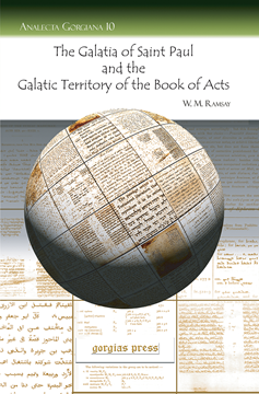 Picture of The Galatia of Saint Paul and the Galatic Territory of the Book of Acts