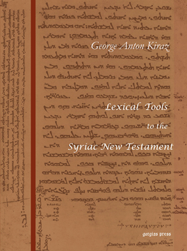 Picture of Lexical Tools to the Syriac New Testament