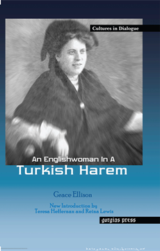 Picture of An Englishwoman in a Turkish Harem