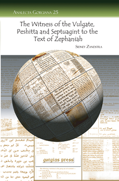 Picture of The Witness of the Vulgate, Peshitta and Septuagint to the Text of Zephaniah