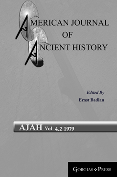 Picture of American Journal of Ancient History 4.2
