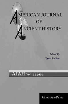 Picture of American Journal of Ancient History 11
