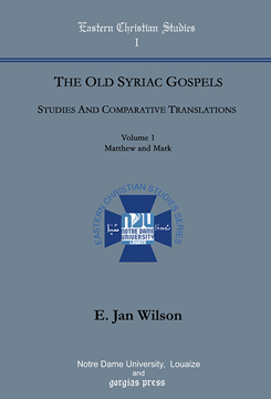 Picture of The Old Syriac Gospels, Studies and Comparative Translations (2-volume set)