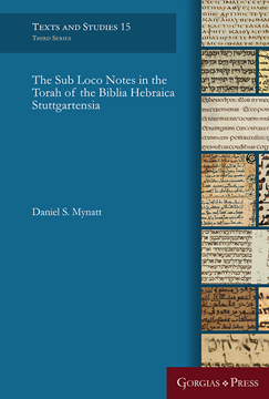Picture of The Sub Loco Notes in the Torah of the Biblia Hebraica Stuttgartensia
