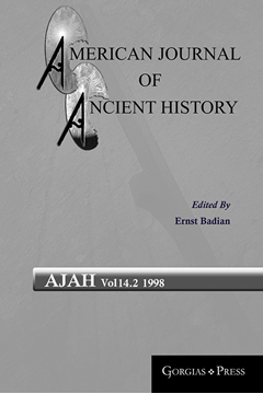 Picture of American Journal of Ancient History 14.2