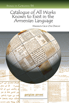 Picture of Catalogue of All Works Known to Exist in the Armenian Language