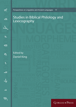 Picture of Studies in Biblical Philology and Lexicography