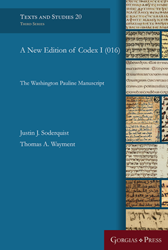 Picture of A New Edition of Codex I (016)