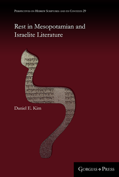Picture of Rest in Mesopotamian and Israelite Literature