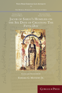 Picture of Jacob of Sarug's Homilies on the Six Days of Creation: The Fifth Day