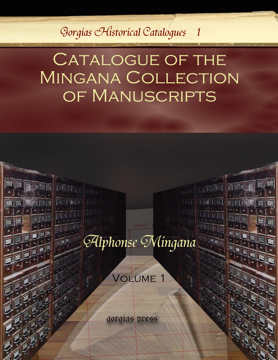 Picture of Catalogue of the Mingana Collection of Manuscripts (3-volume set)