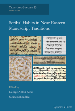 Picture of Scribal Habits in Near Eastern Manuscript Traditions