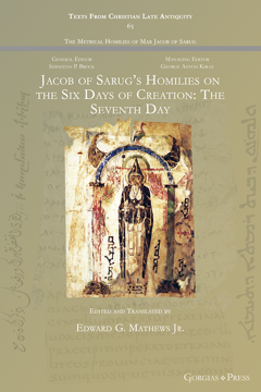 Picture of Jacob of Sarug's Homilies on the Six Days of Creation (The Seventh Day)