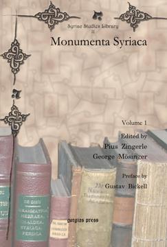 Picture of Monumenta Syriaca (2-volume set)